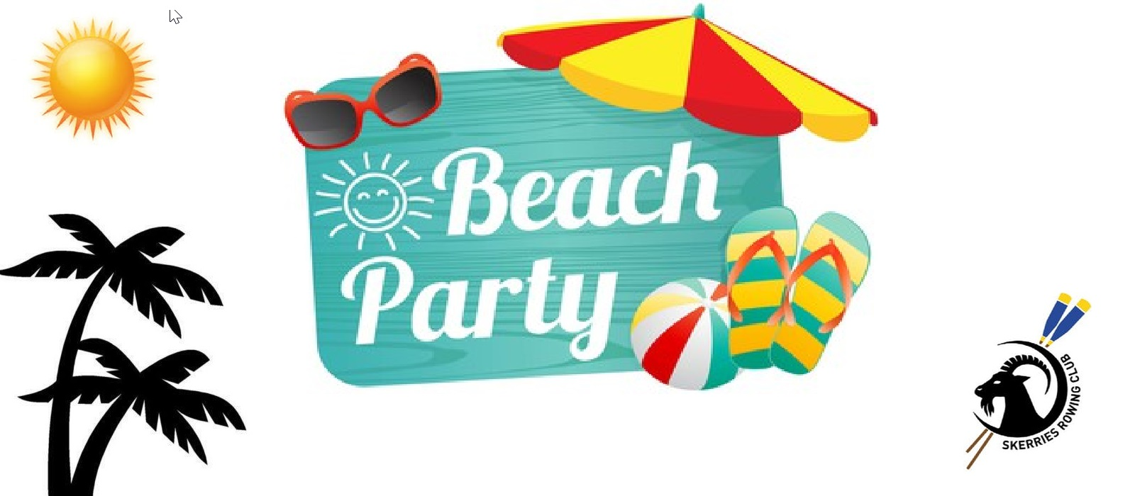 Beach Party Sunday 19th (4-6pm)